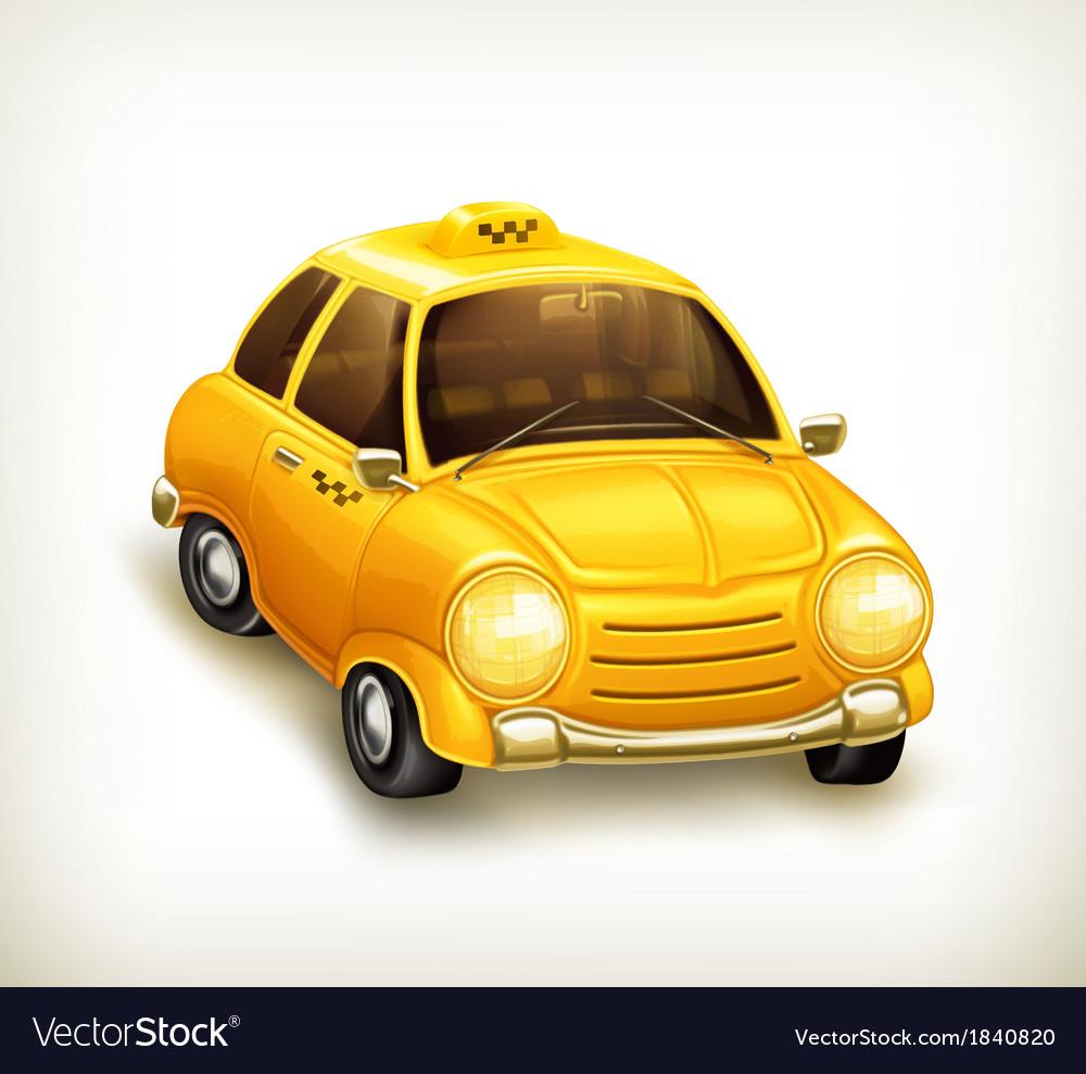 Taxi icon vector | Price: 3 Credit (USD $3)