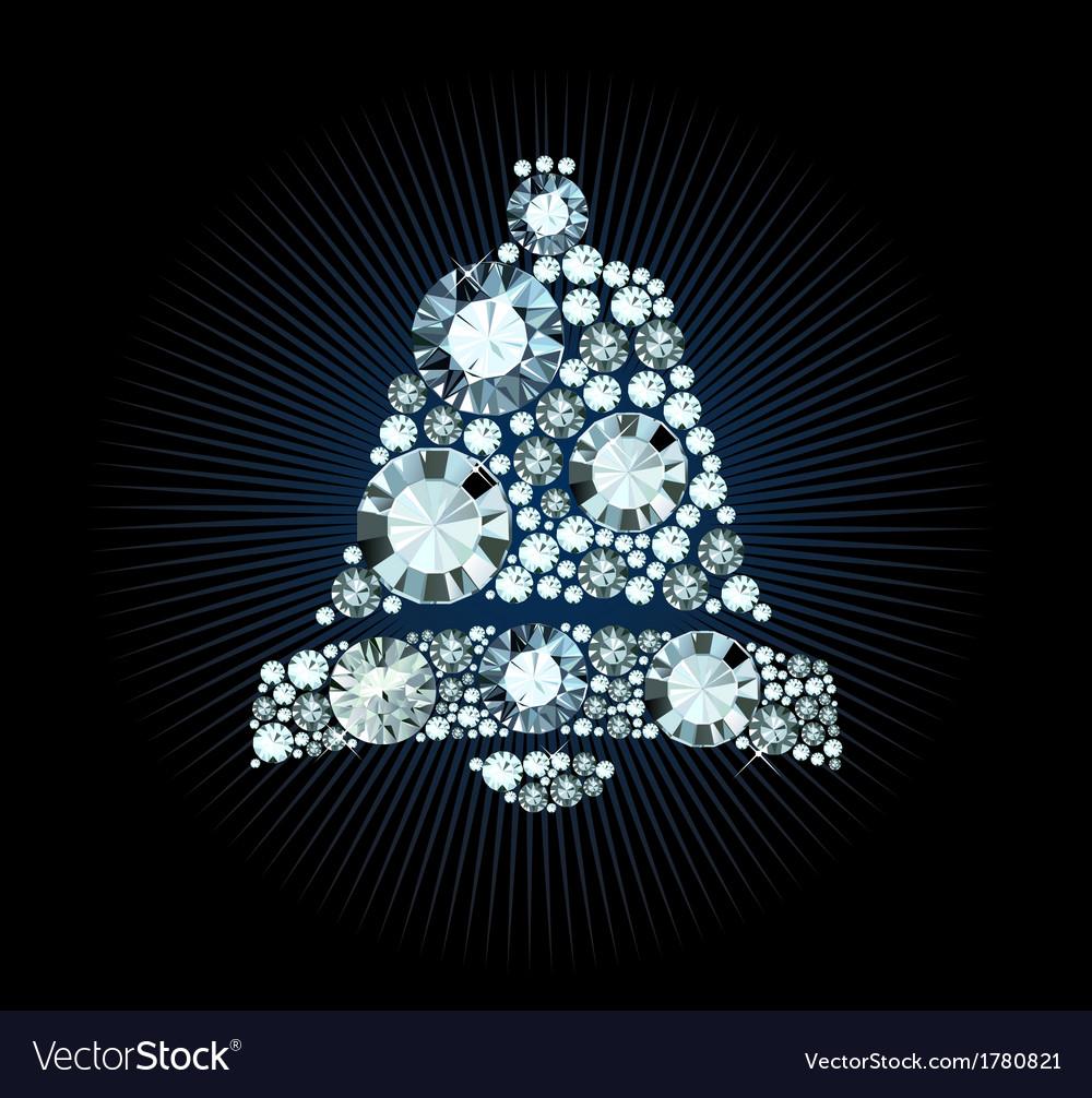 Diamond bell vector | Price: 1 Credit (USD $1)