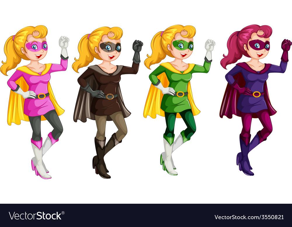 Females vector | Price: 3 Credit (USD $3)