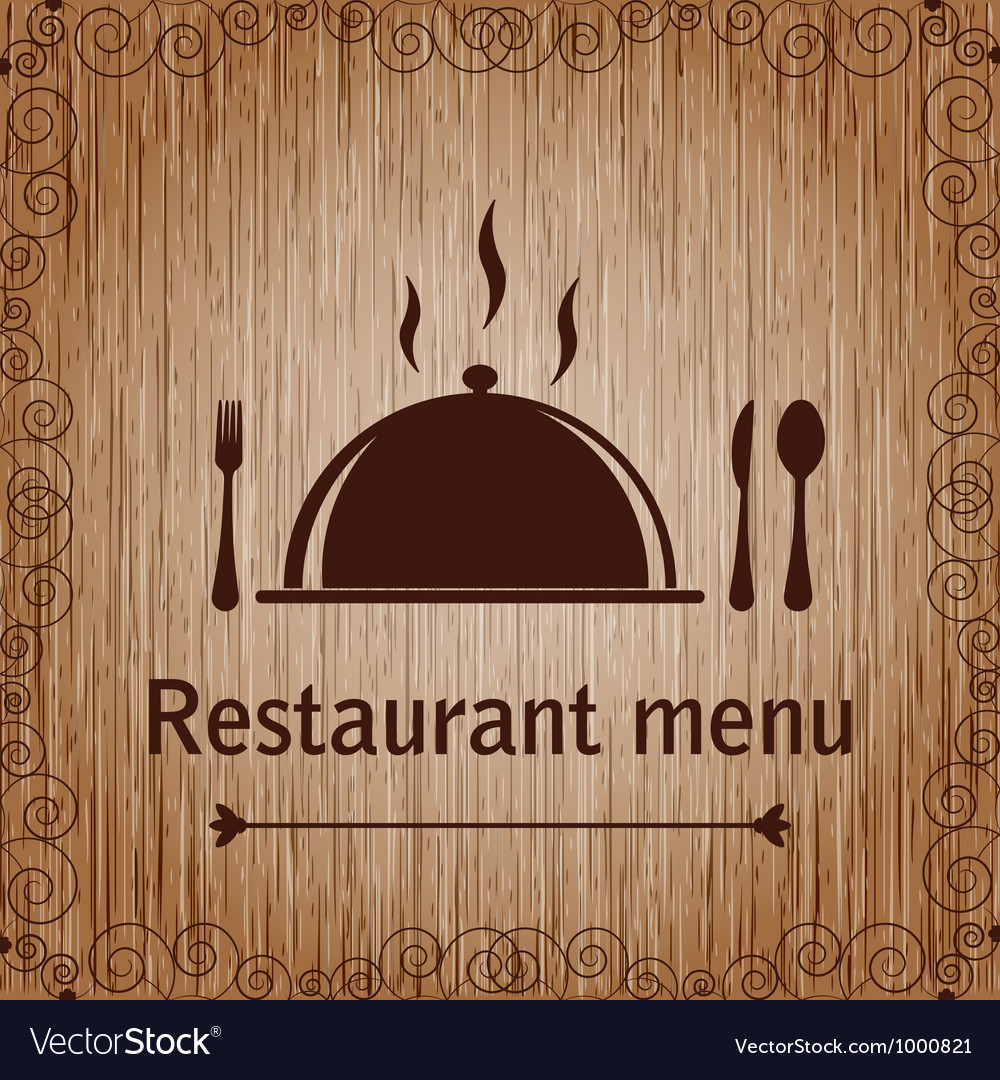 Template of a restaurant menu vector | Price: 1 Credit (USD $1)