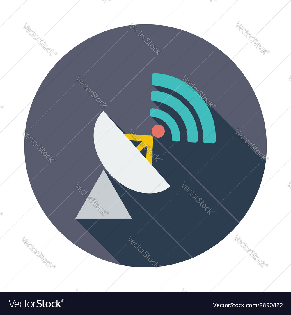 Satellite antenna vector | Price: 1 Credit (USD $1)