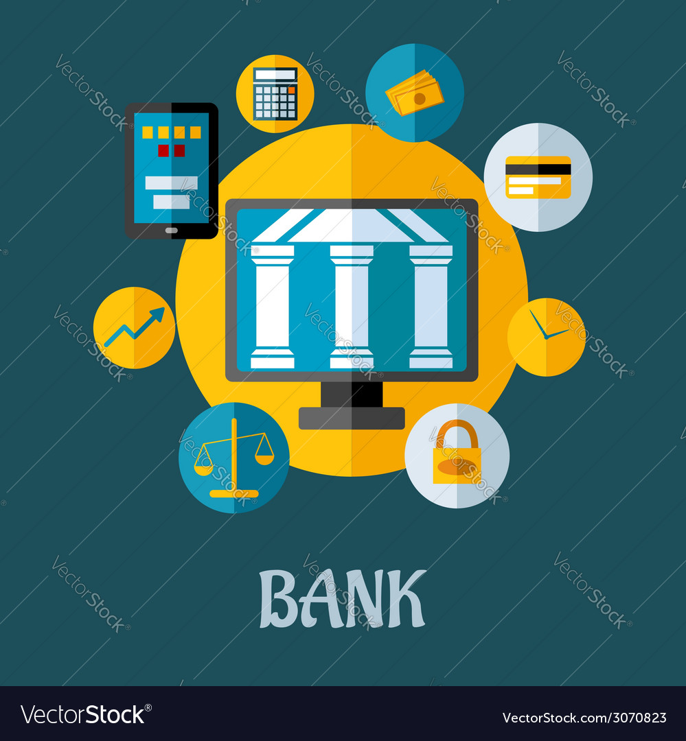 Banking and investment concept vector | Price: 1 Credit (USD $1)