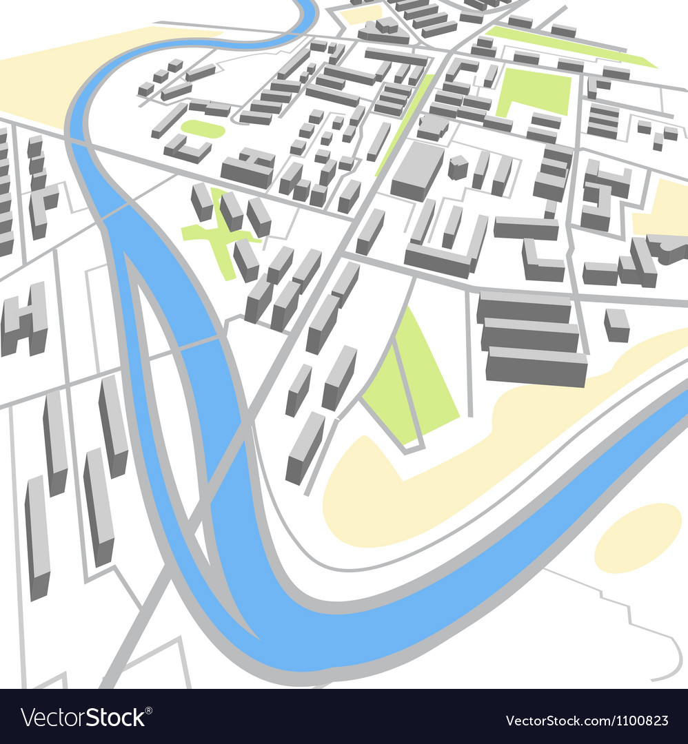 City map vector | Price: 1 Credit (USD $1)