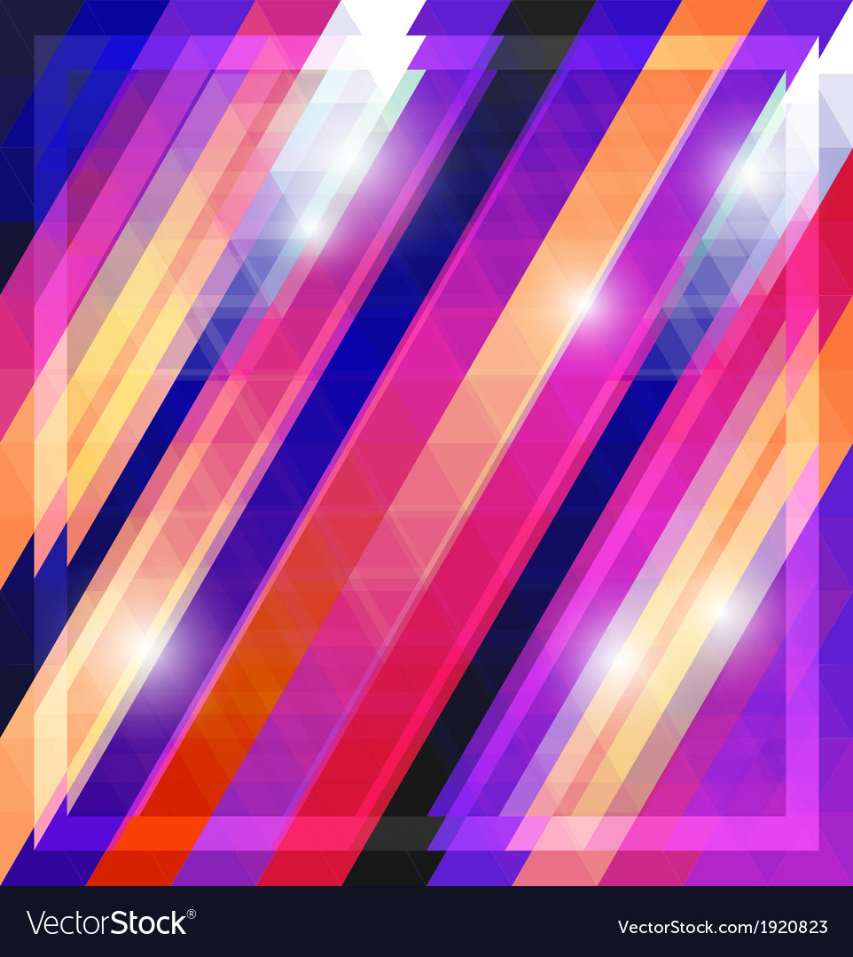 Geometric shining pattern with triangles vector   Price: 1 Credit (USD $1)
