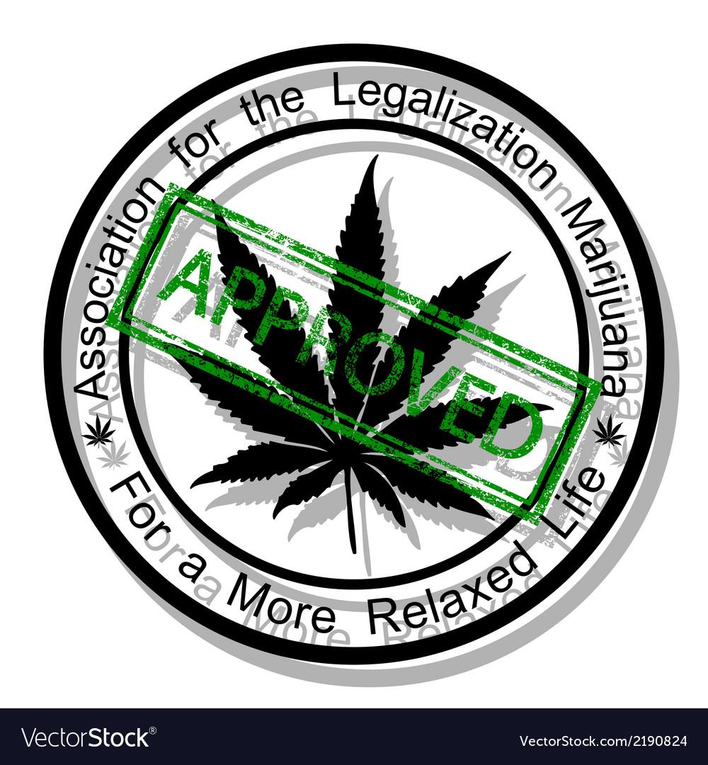 Approve marijuana vector   Price: 1 Credit (USD $1)