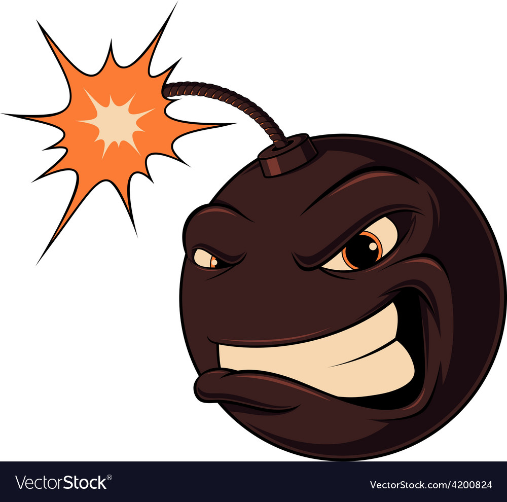 Bomb ready to explode vector | Price: 1 Credit (USD $1)