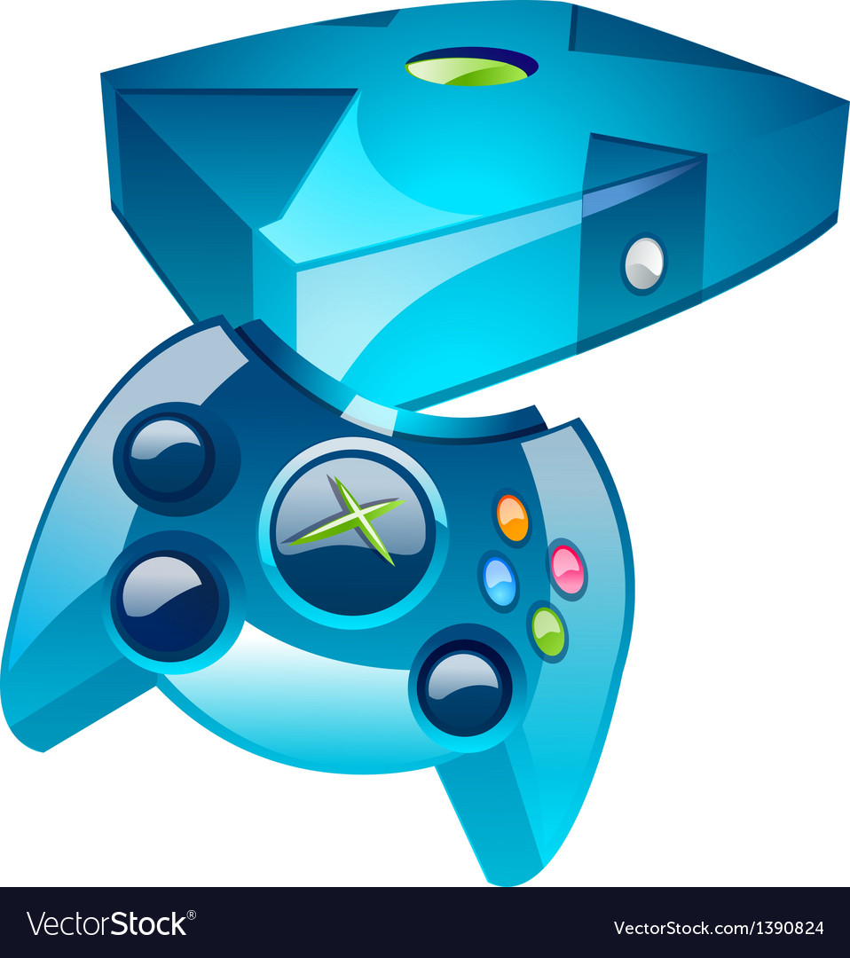 Icon game player vector | Price: 1 Credit (USD $1)