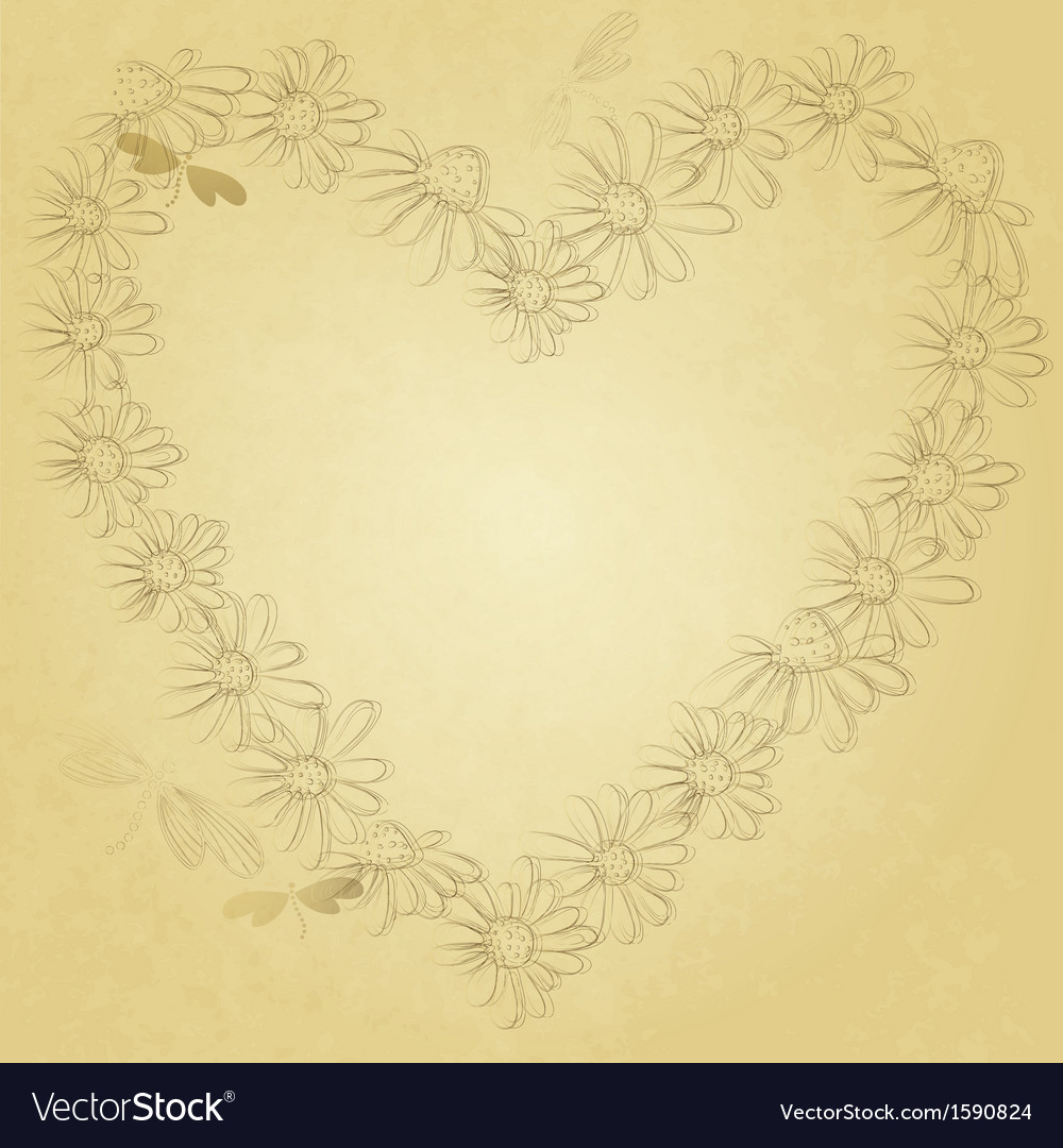 Old valentine paper vector | Price: 1 Credit (USD $1)
