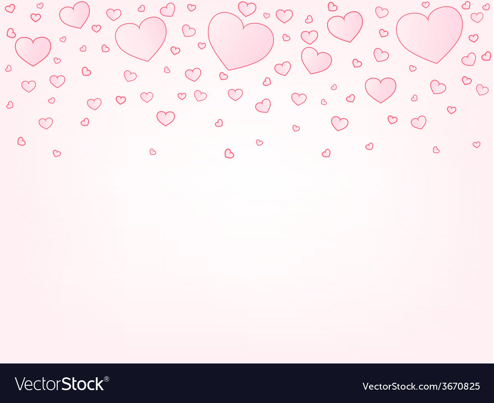 Valentine card background vector | Price: 1 Credit (USD $1)