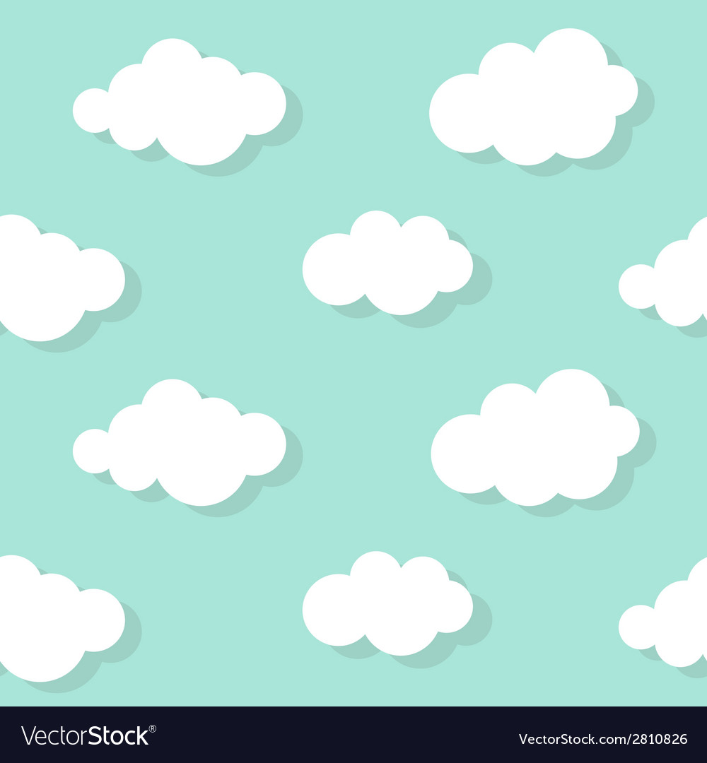 Abstract cloud background vector | Price: 1 Credit (USD $1)