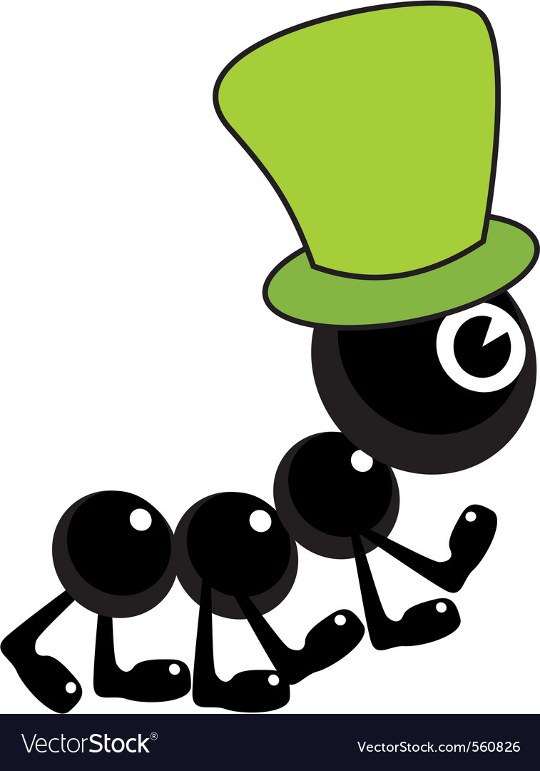 Ant hat vector | Price: 1 Credit (USD $1)