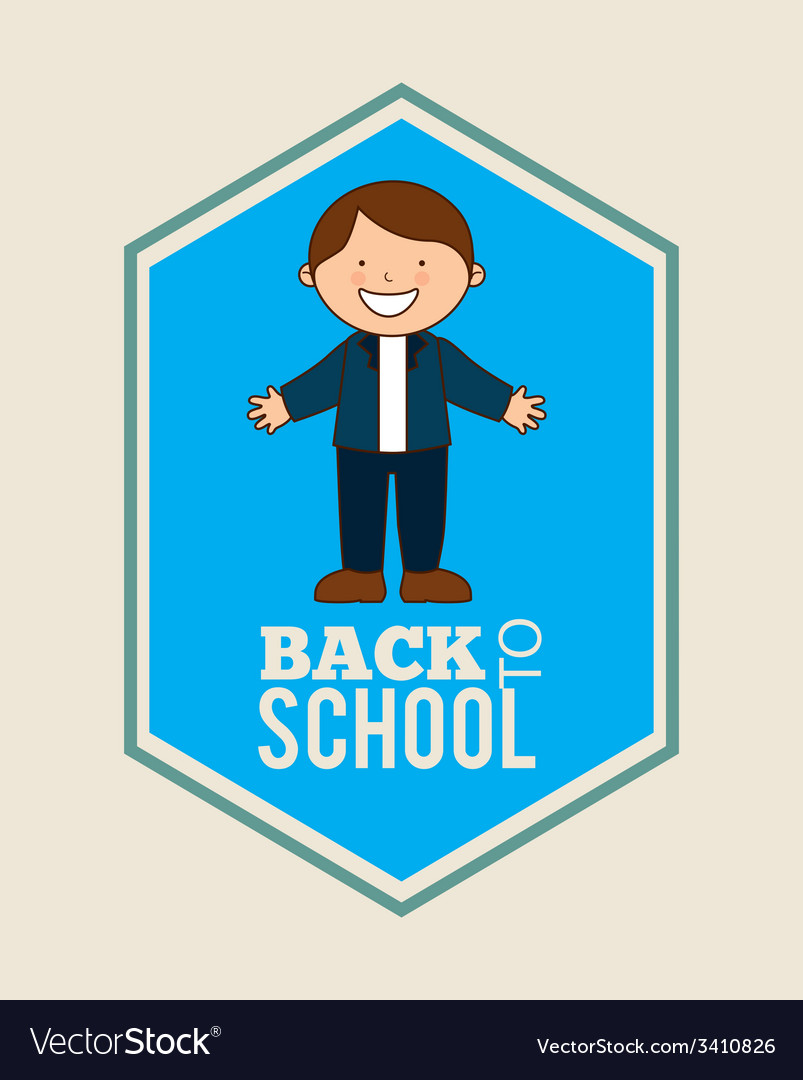 Back to school design vector | Price: 1 Credit (USD $1)
