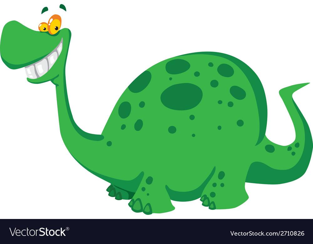 Happy dinosaur vector | Price: 1 Credit (USD $1)