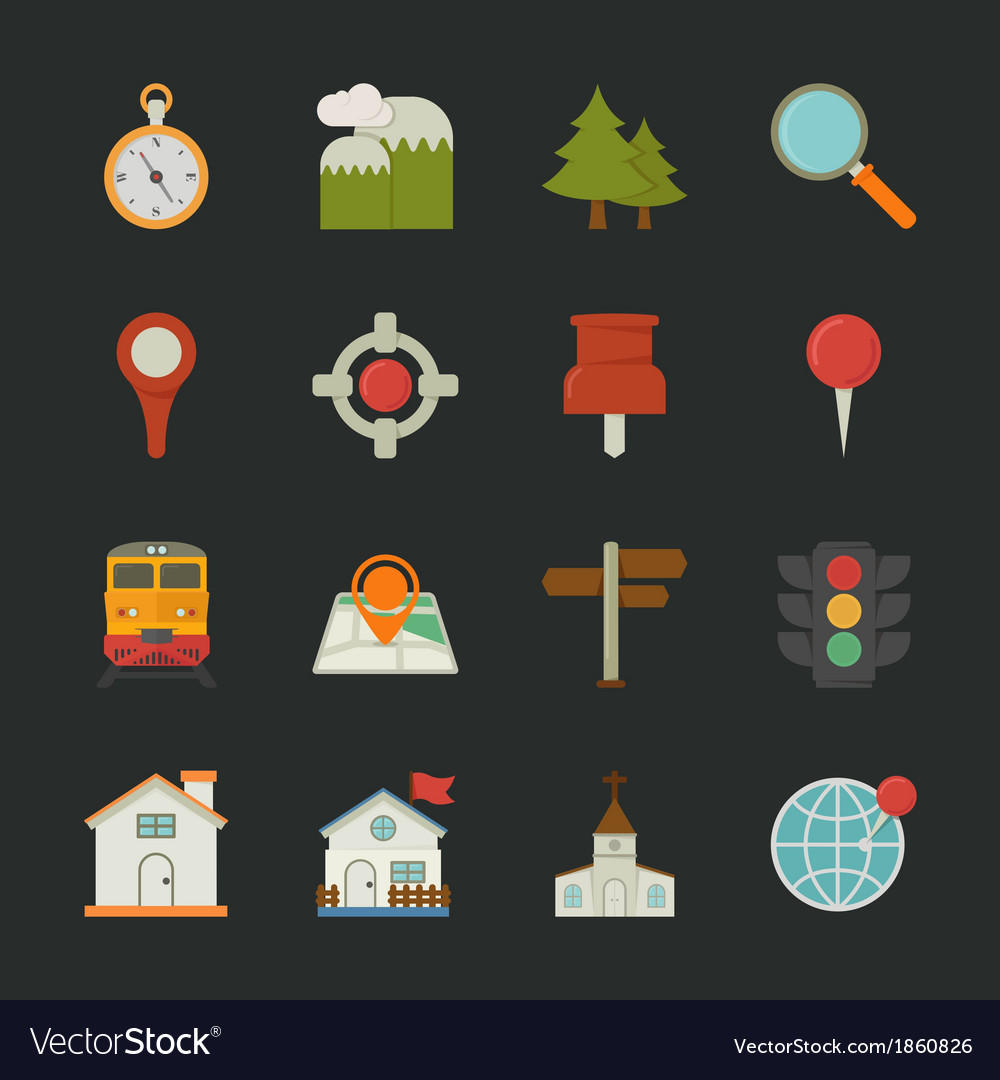 Iconlocation vector | Price: 1 Credit (USD $1)