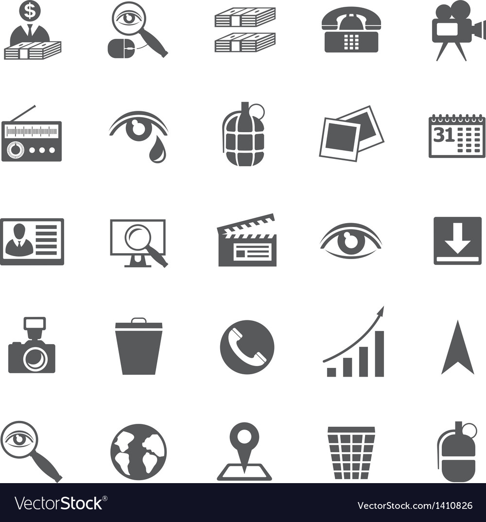 Set of business icons vector | Price: 3 Credit (USD $3)