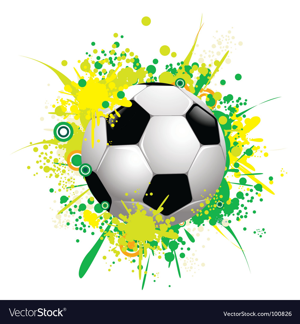 Soccer ball 1 vector | Price: 1 Credit (USD $1)