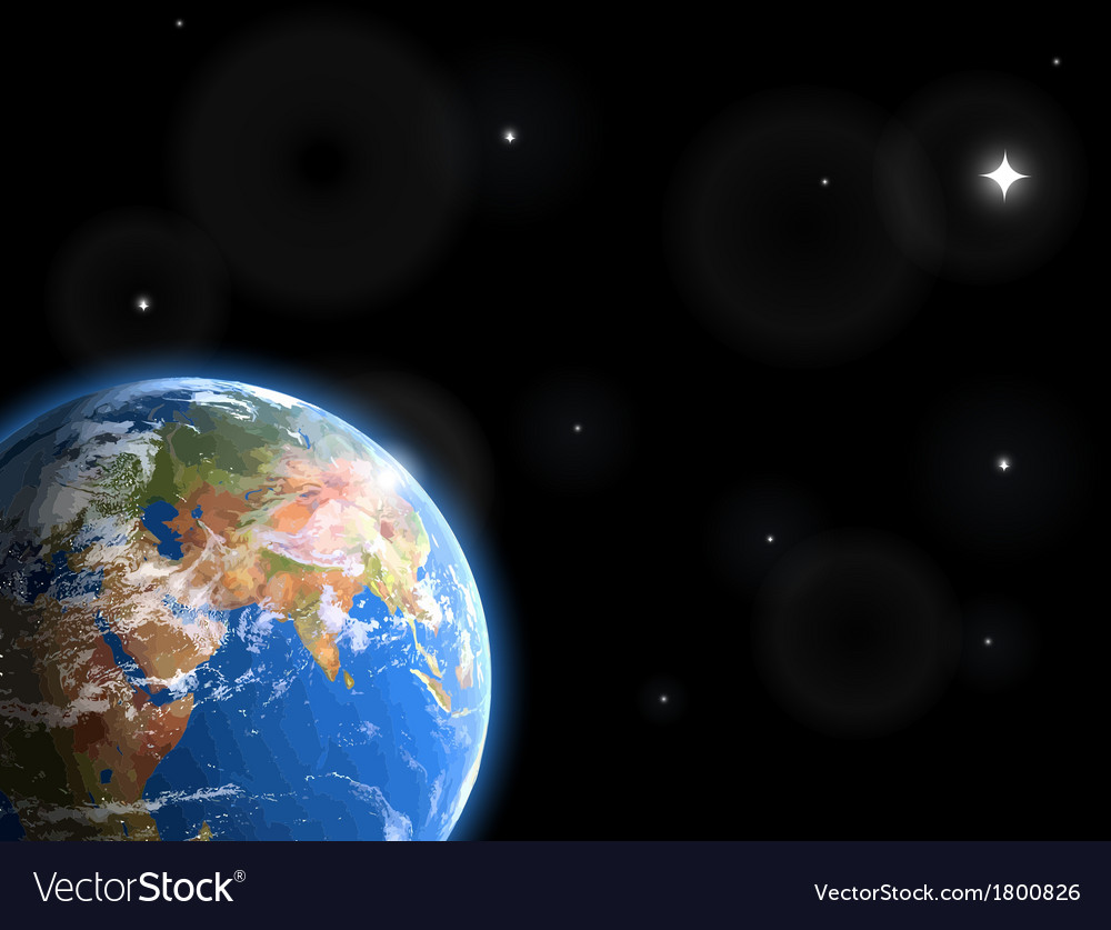 Space and stars vector | Price: 1 Credit (USD $1)