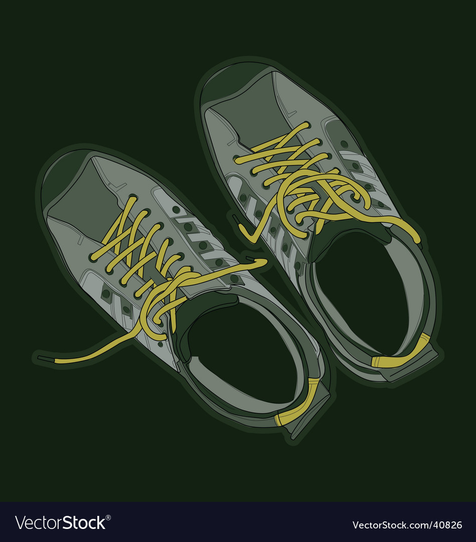 Sport shoes vector | Price: 3 Credit (USD $3)