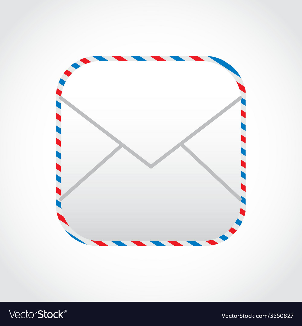 Envelope mail design vector | Price: 1 Credit (USD $1)
