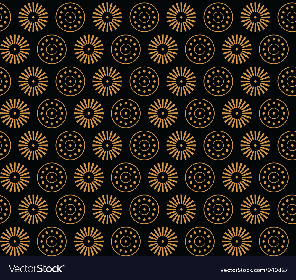 Greece flowers and circles vector | Price: 1 Credit (USD $1)