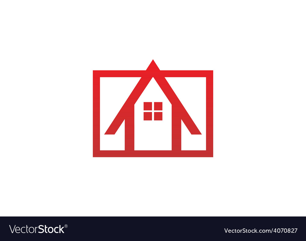 House architecture logo vector | Price: 1 Credit (USD $1)