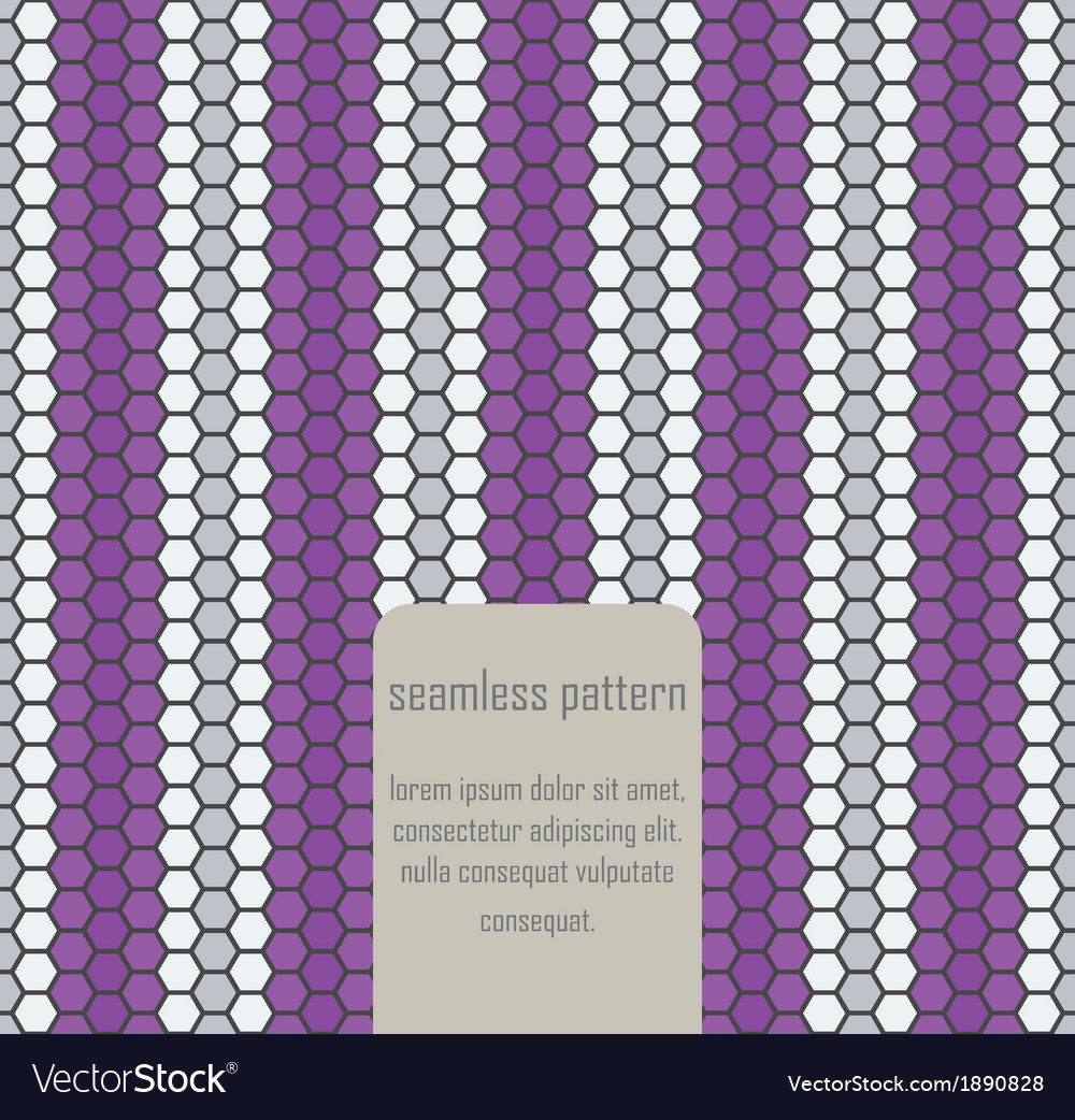 Seamless geometric art pattern vector | Price: 1 Credit (USD $1)