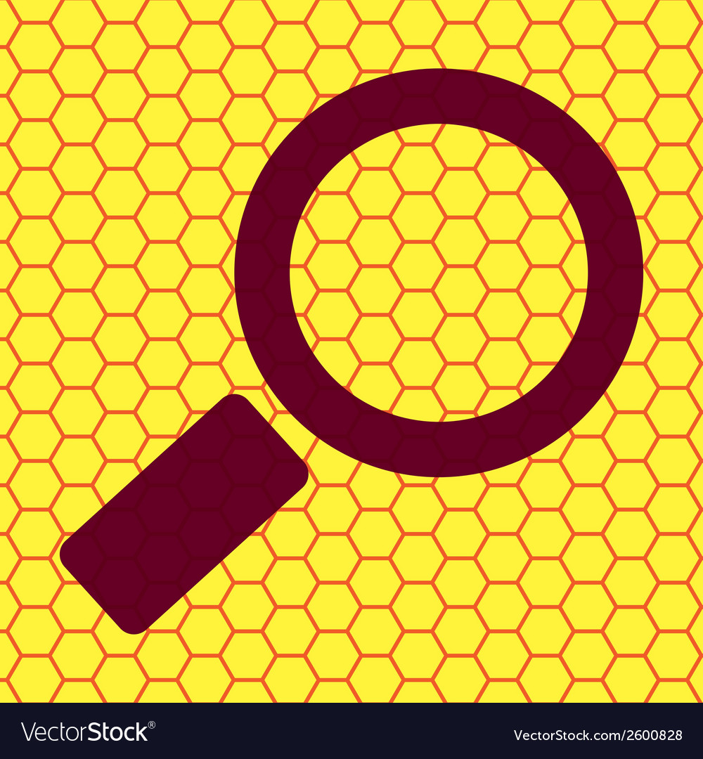 Search magnifier flat modern web button and space vector   Price: 1 Credit (USD $1)