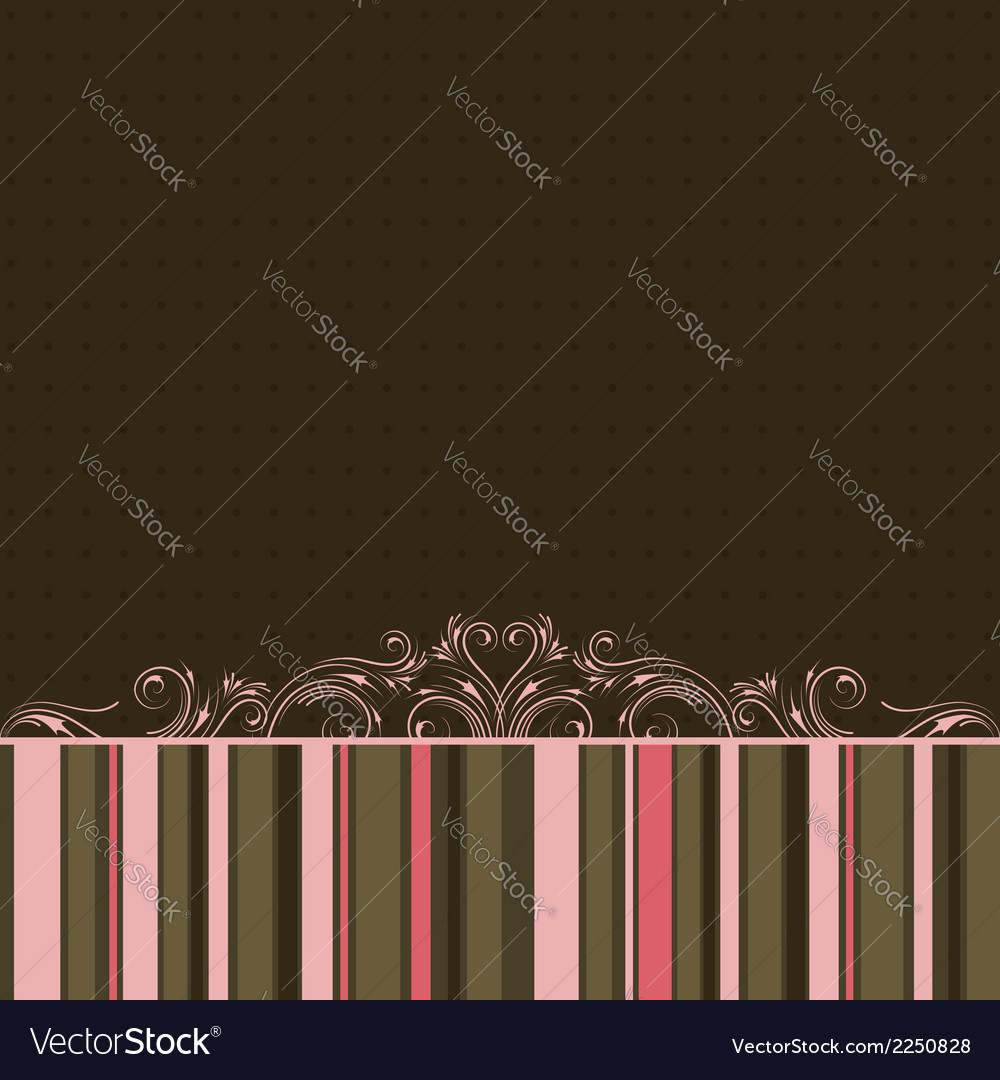 Striped color background vector | Price: 1 Credit (USD $1)