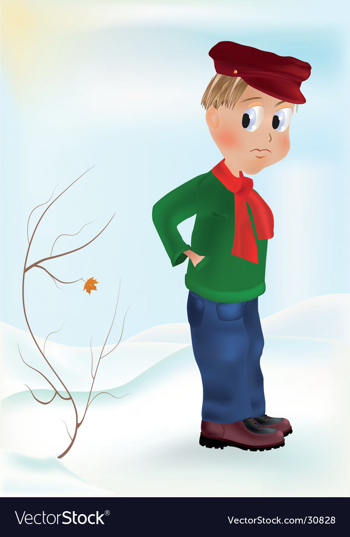 Winter scene vector   Price: 1 Credit (USD $1)