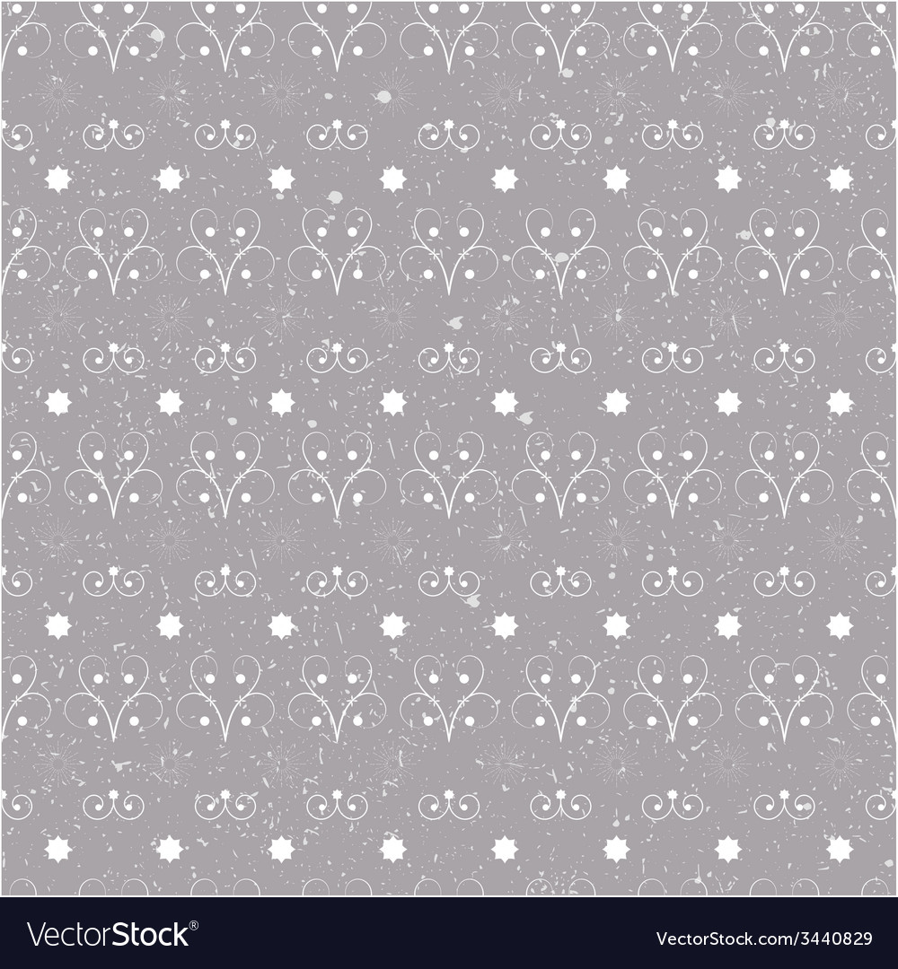 Christmas seamless pattern simple vector | Price: 1 Credit (USD $1)