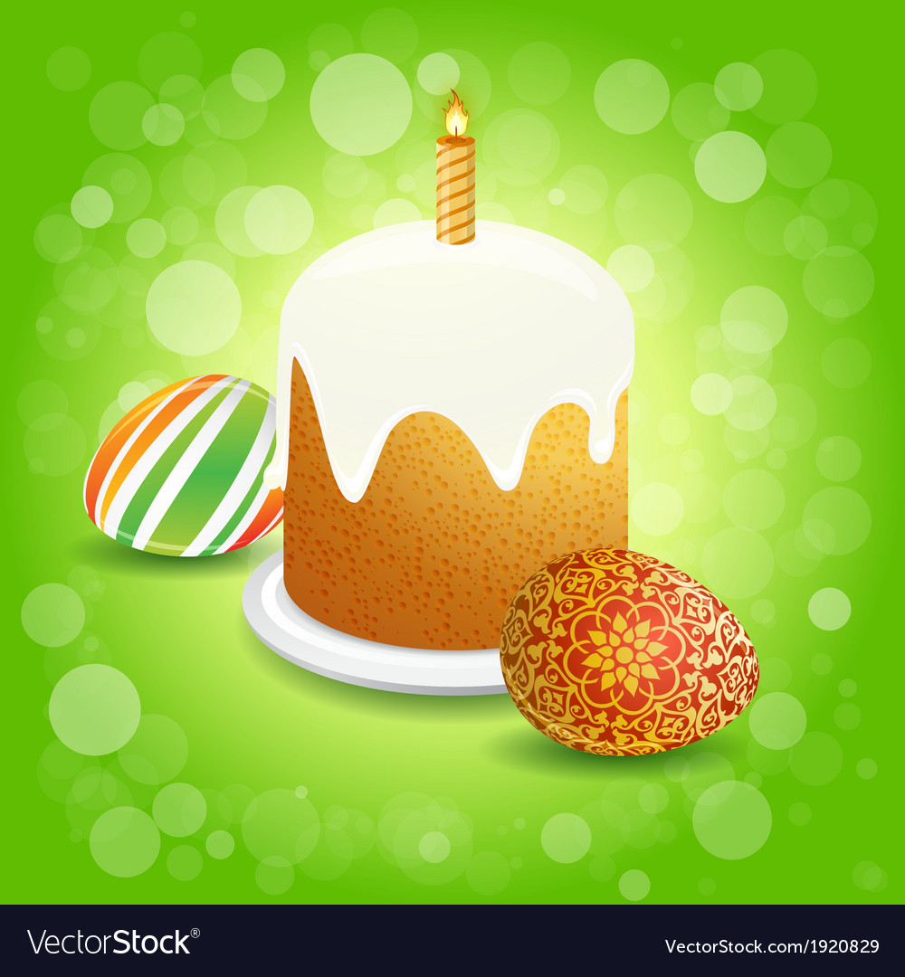 Easter cake vector   Price: 1 Credit (USD $1)