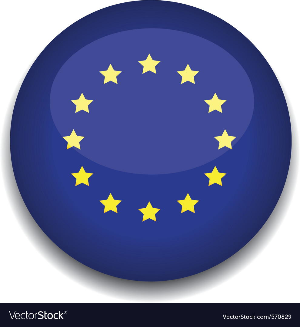 European flag vector | Price: 1 Credit (USD $1)