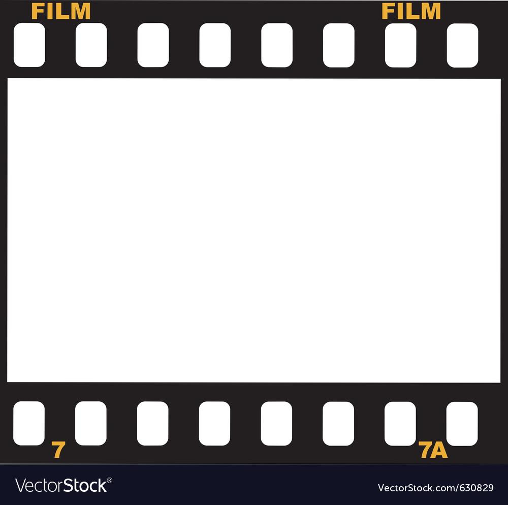 Frame of film vector | Price: 1 Credit (USD $1)