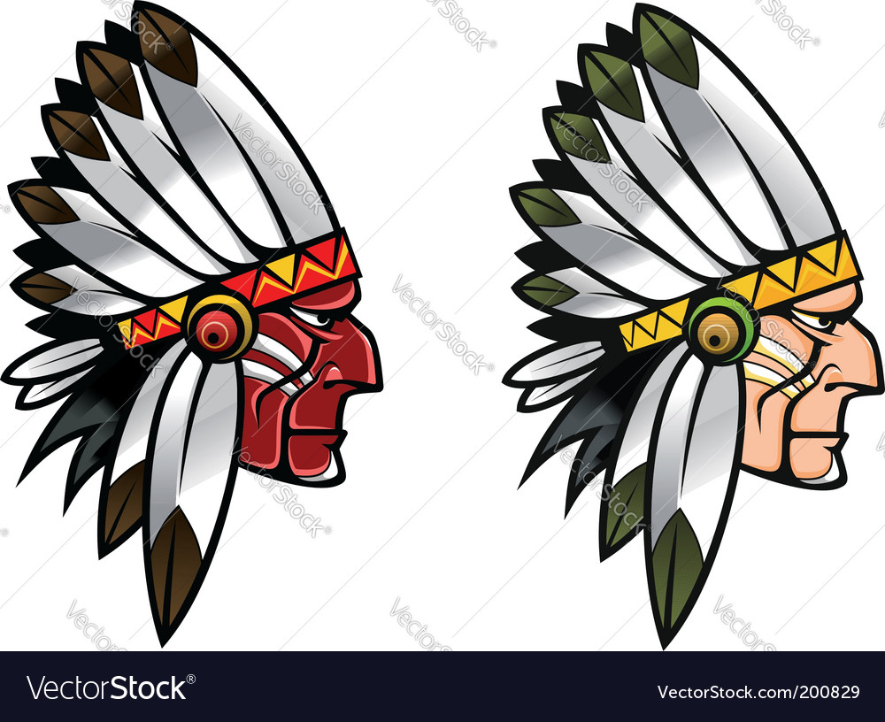 Indigenous people vector | Price: 1 Credit (USD $1)