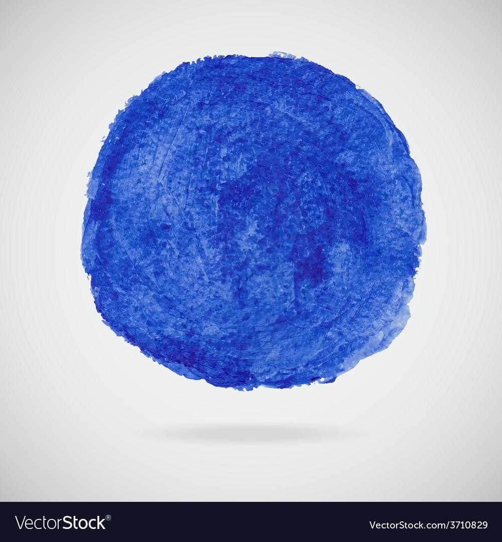 Watercolor circle vector | Price: 1 Credit (USD $1)