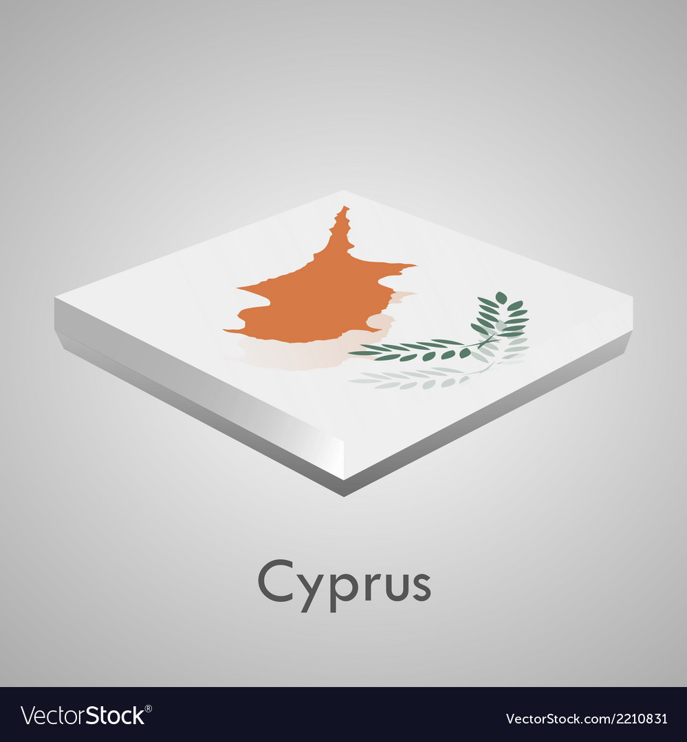 European flags set - cyprus vector | Price: 1 Credit (USD $1)