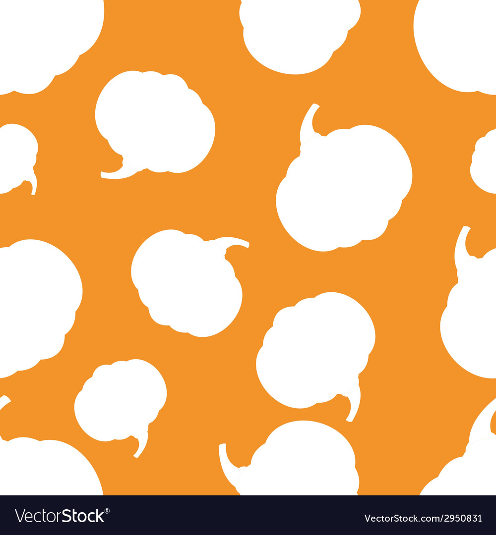 Pattern silhouette pumpkin vector | Price: 1 Credit (USD $1)