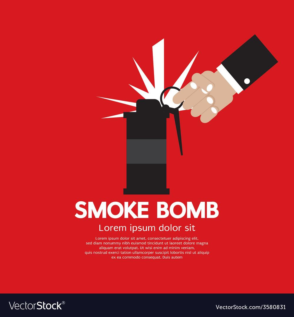 Smoke bomb graphic vector | Price: 1 Credit (USD $1)