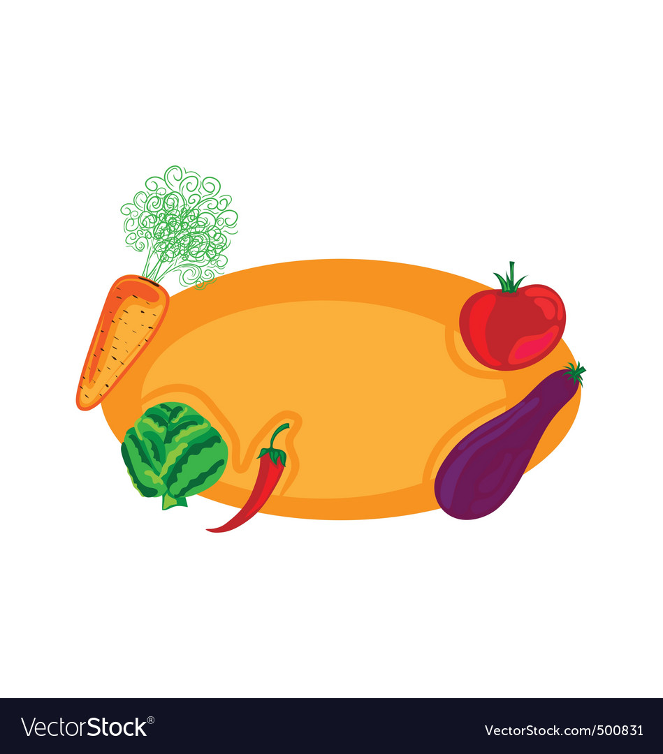 Vegetable design vector | Price: 1 Credit (USD $1)