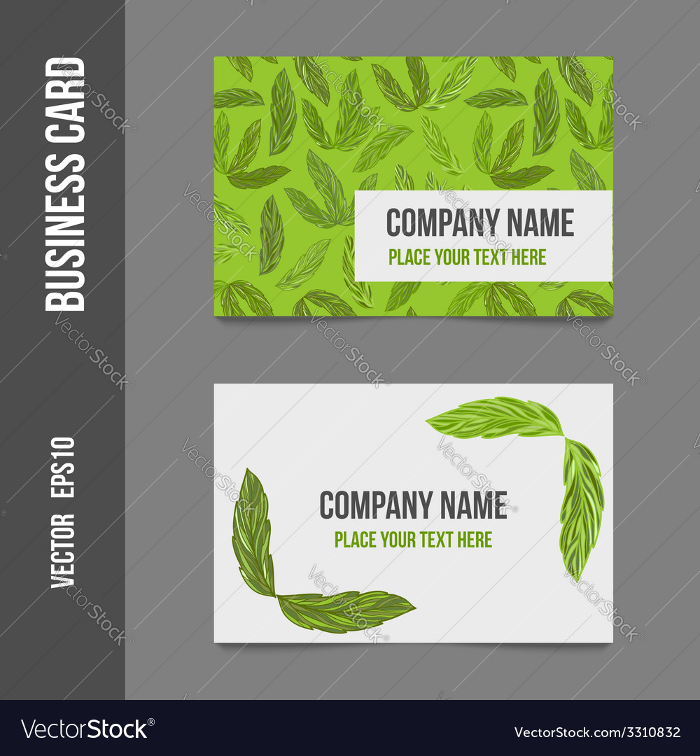 Corporate business cards vector | Price: 1 Credit (USD $1)