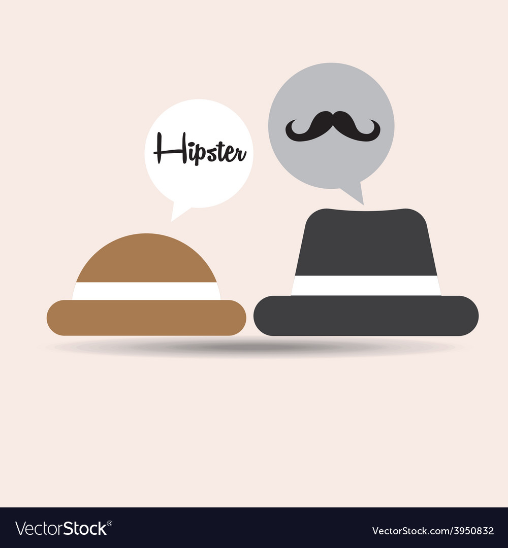 Hipster style vector   Price: 1 Credit (USD $1)