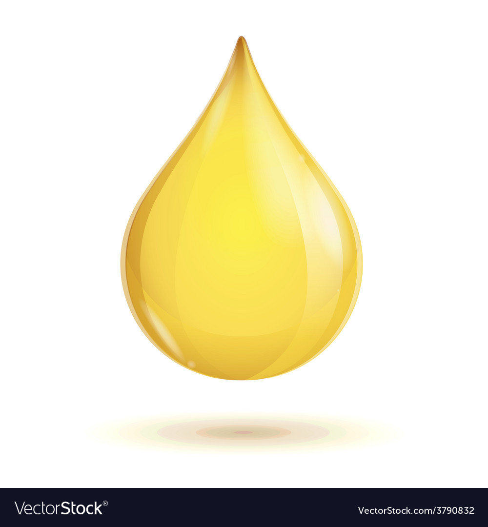 Oil transparent drop vector | Price: 1 Credit (USD $1)
