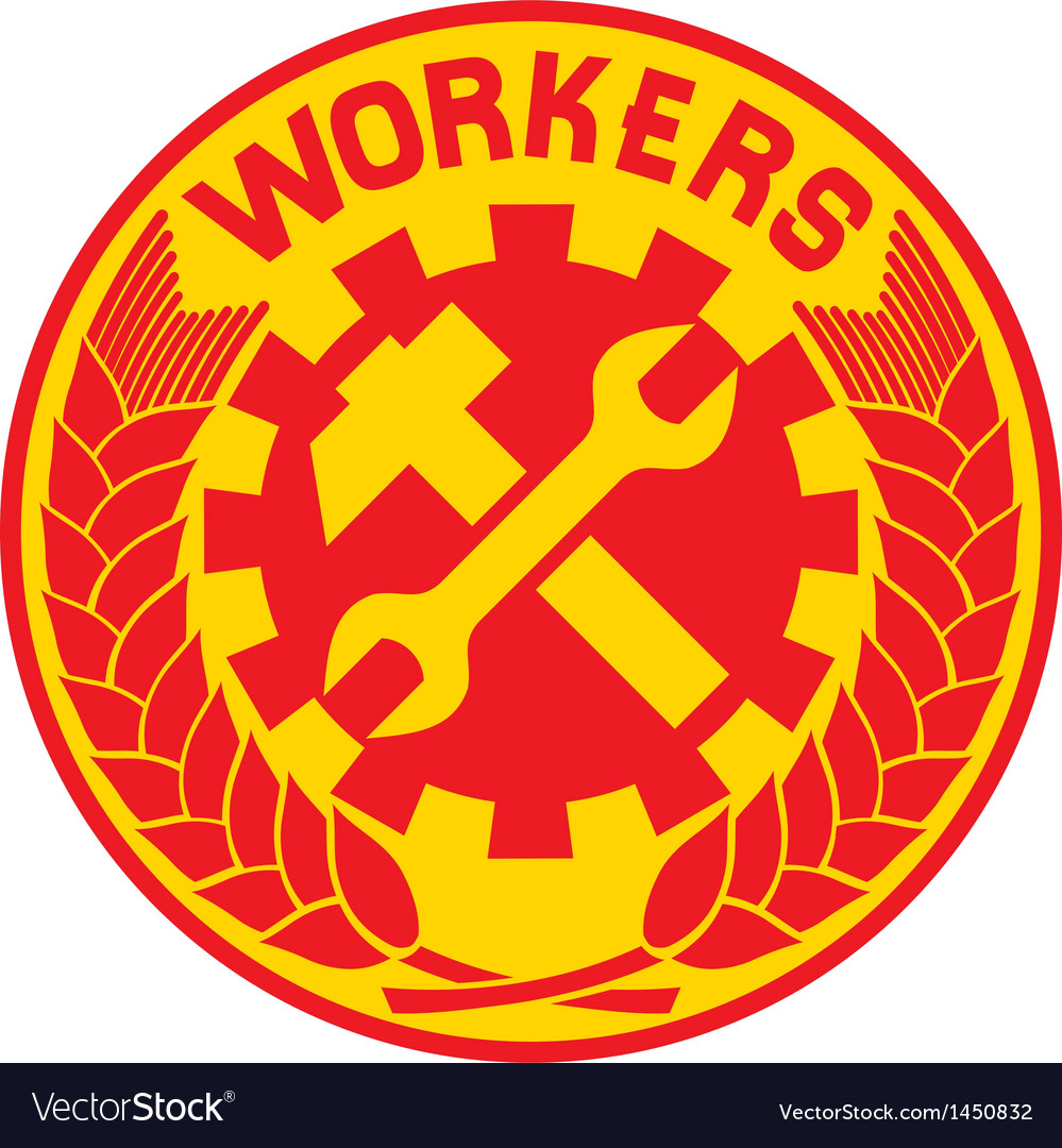 Worker sign vector | Price: 1 Credit (USD $1)
