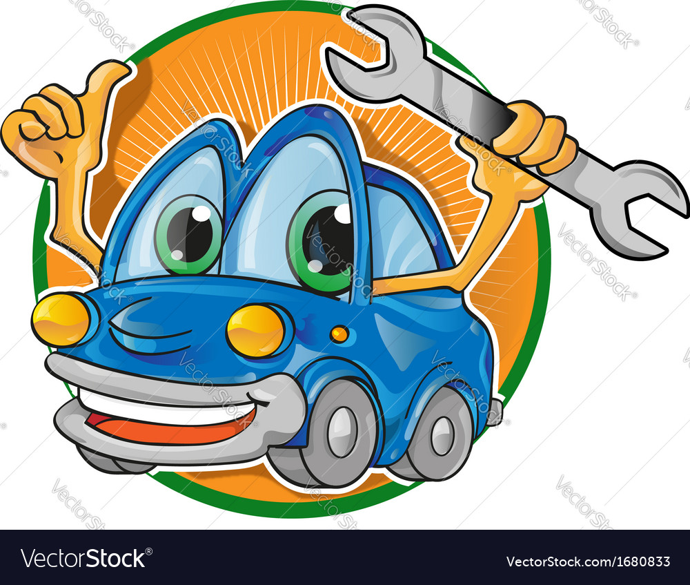 Car garageembleme vector | Price: 1 Credit (USD $1)