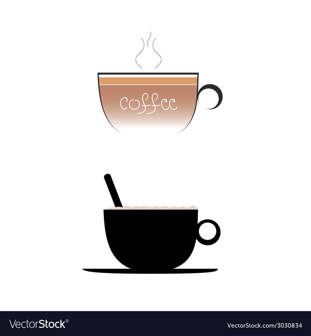 Coffee color vector | Price: 1 Credit (USD $1)