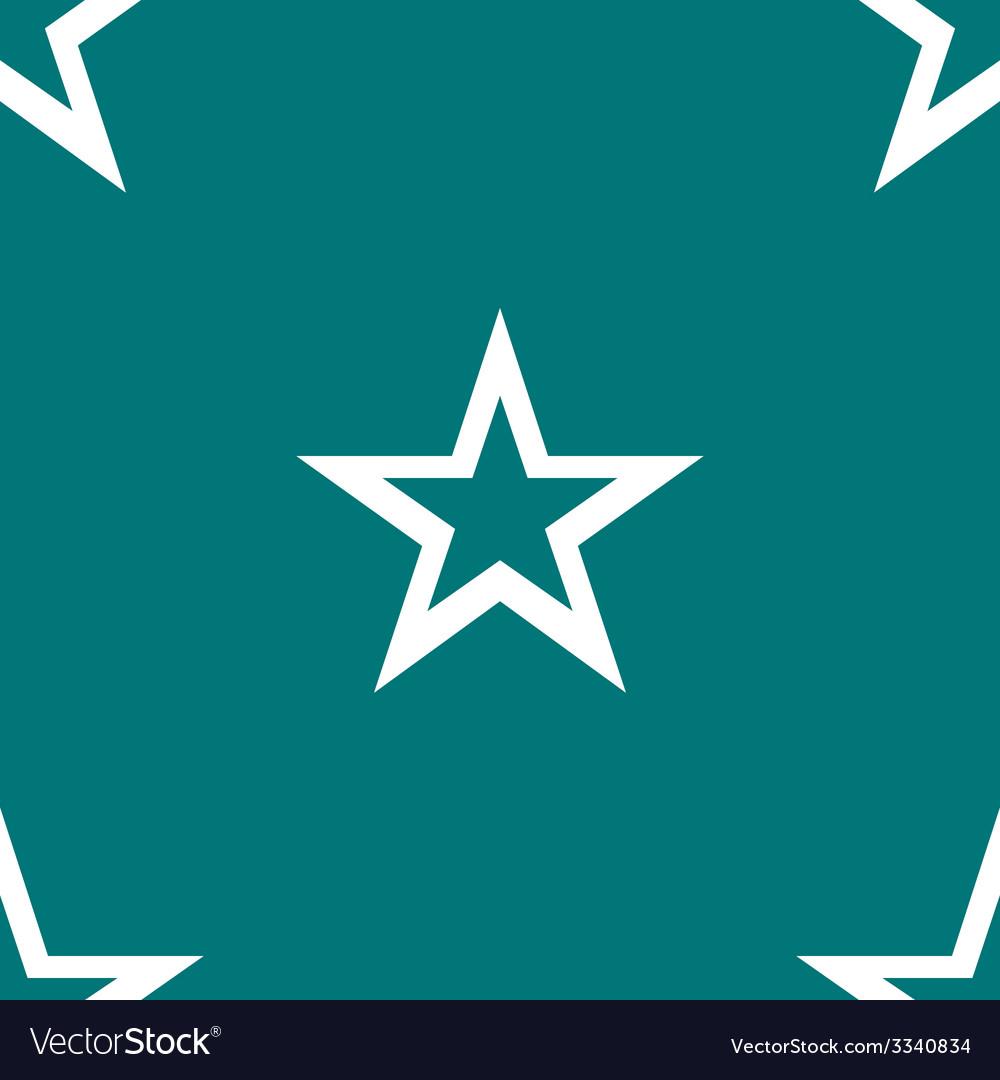 Star web icon flat design seamless gray pattern vector   Price: 1 Credit (USD $1)