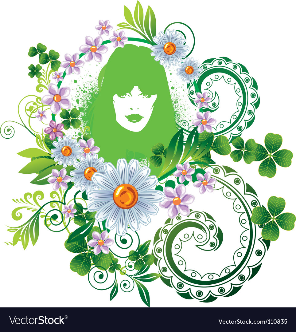 Mother nature vector | Price: 1 Credit (USD $1)