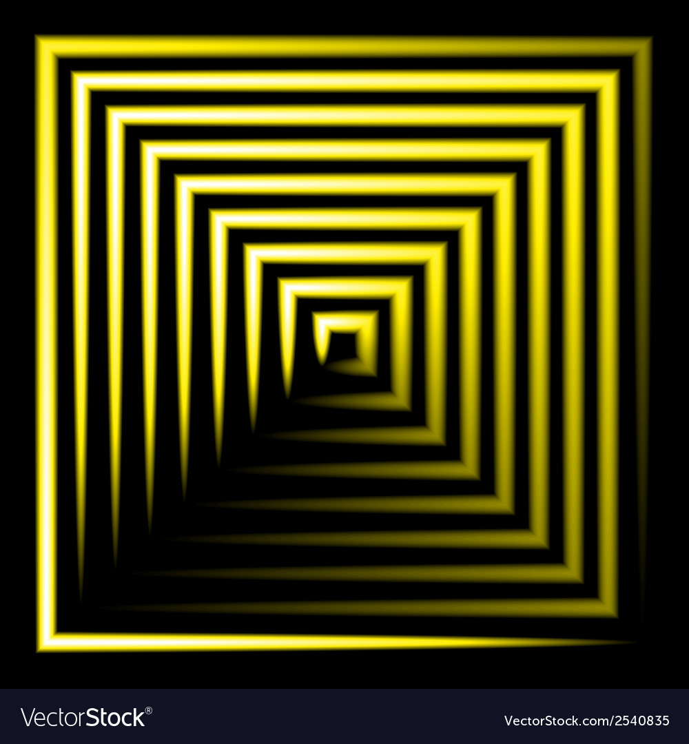 Yellow neon square background vector   Price: 1 Credit (USD $1)