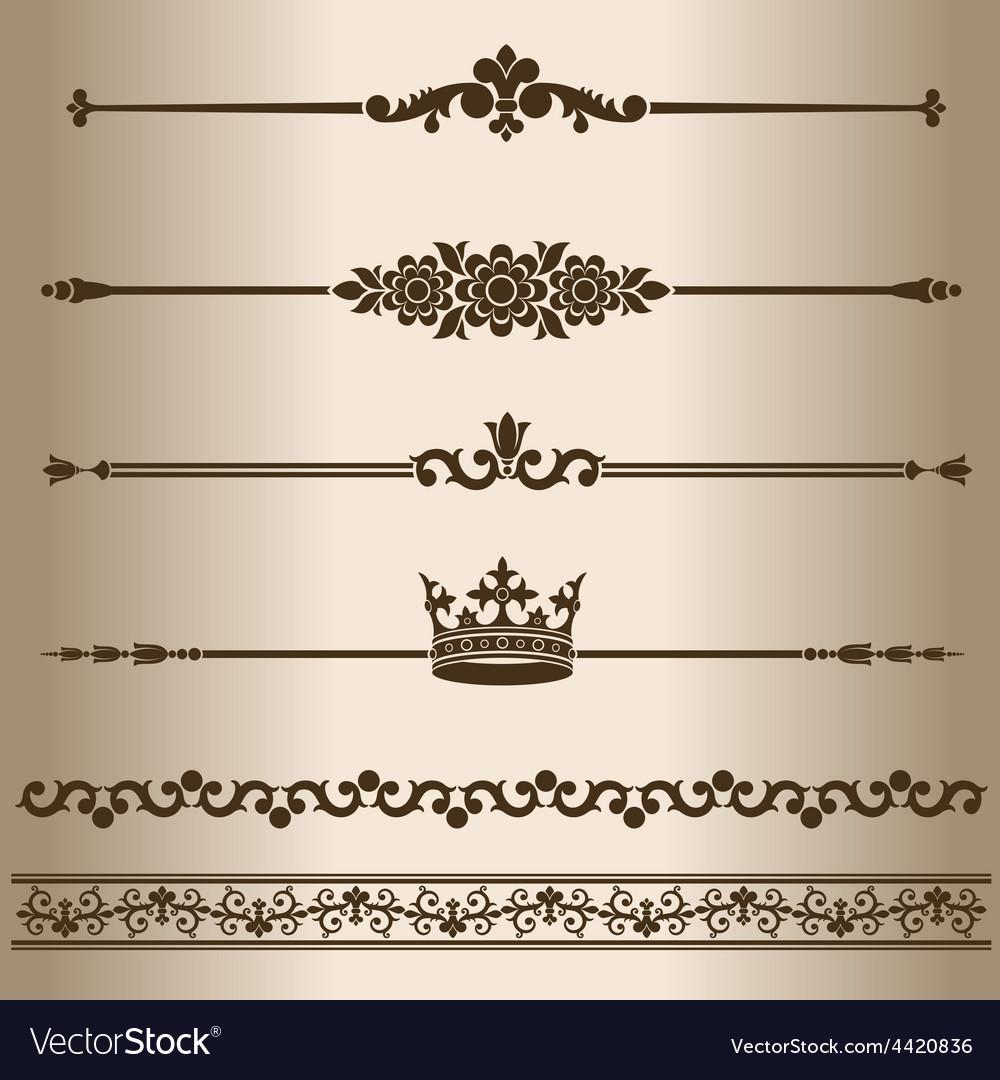 Decorative lines vector   Price: 1 Credit (USD $1)