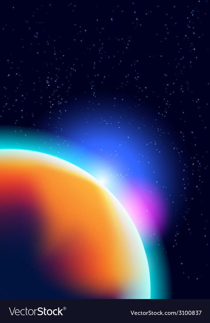 Cosmic background vector | Price: 1 Credit (USD $1)